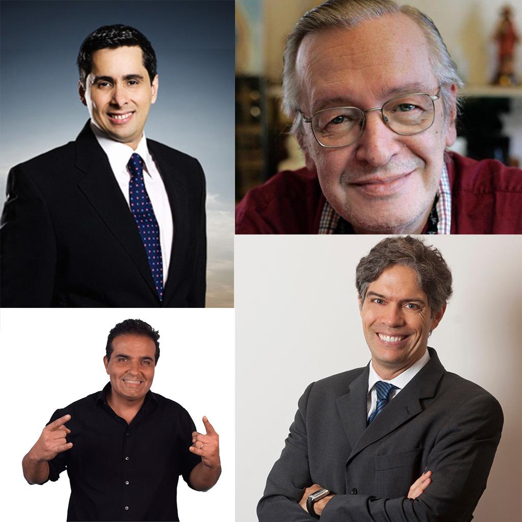 Comunicadores brasileiros de destaque